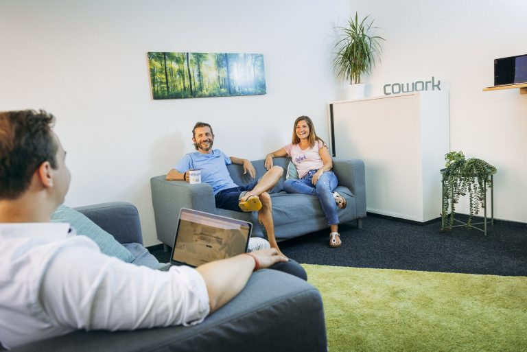 Chill-out-Area im Coworking Space Düren